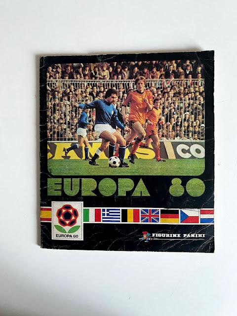 Copertina Album Figurine Europa 80 Panini