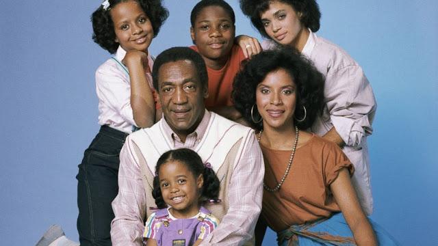 Le cast du Cosby Show, série télévisée de Bill Cosby