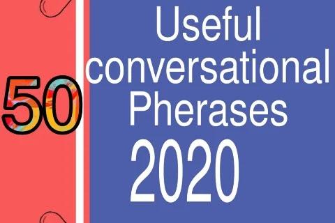 (50) Common Useful Pherasa 2020