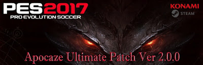 Patch PES 2017 Terbaru dari Apocaze Ultimate Patch V2.0 AIO