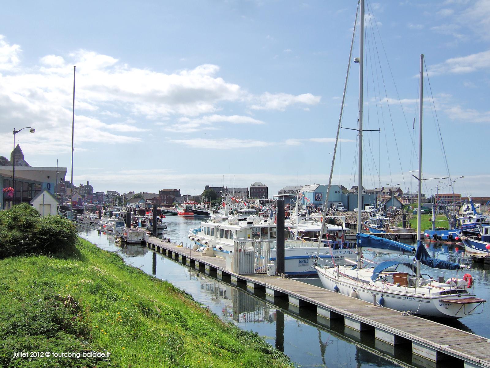 Le Tréport, port de plaisance, quai de la Retenue - 2012