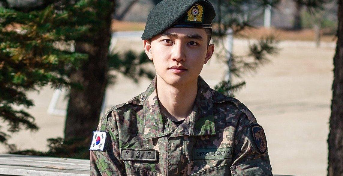 d.o. exo finaliza servicio militar
