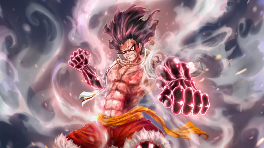 36 one piece wallpapers, background,photos and images of one piece for desktop windows 10, apple iphone and android mobile. Luffy, Snakeman, Gear Fourth, One Piece, 4K, #6.2568 Wallpaper