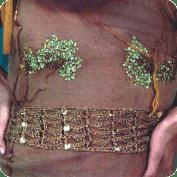 Detalles que visten fajon a Crochet