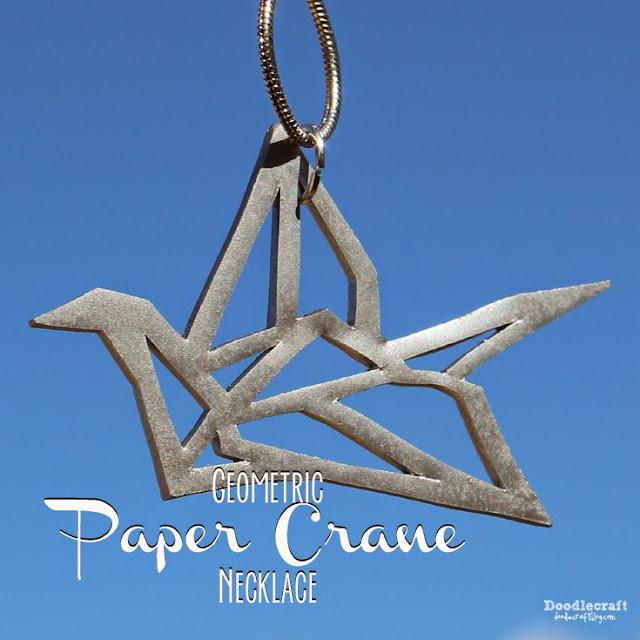 http://www.doodlecraftblog.com/2015/05/geometric-paper-crane-necklace.html