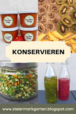Konservieren-Pin-Steiermarkgarten