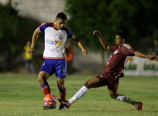 Bahia perde para o Jacuipense por 1 a 0, no Eliel Martins