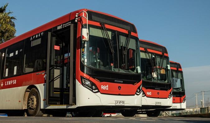 Scania fornece 355 ônibus para o transporte público de Santiago
