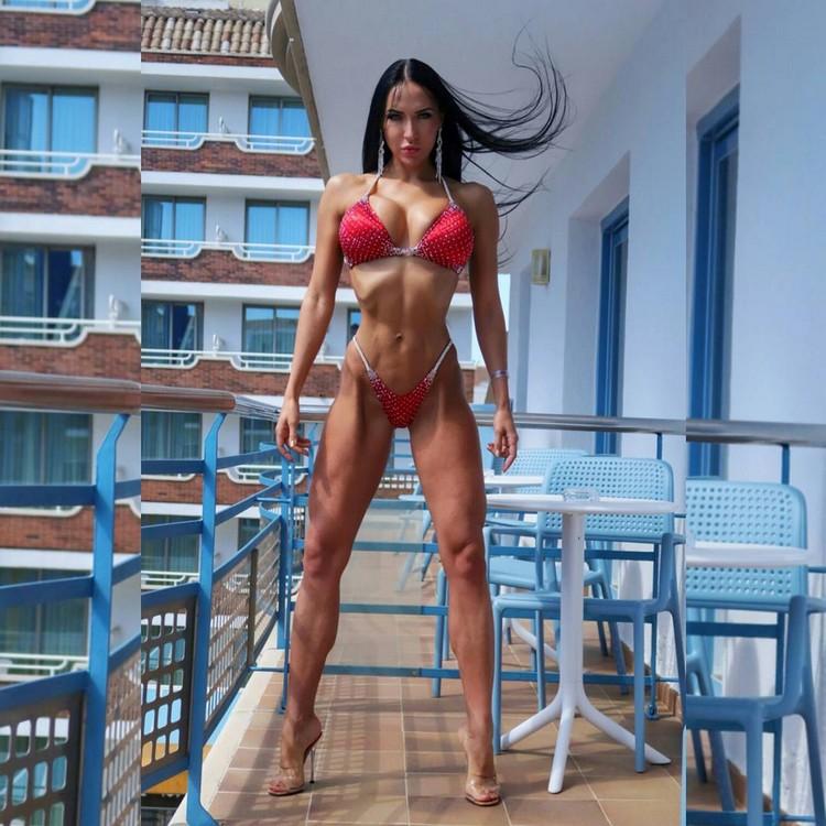 Bikini fitness model Xenia Sheveleva