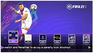 Download eFootball PES 2021 PPSSPP MOD Like FIFA 21 Best Graphics Camera PS5 & Latest Transfer