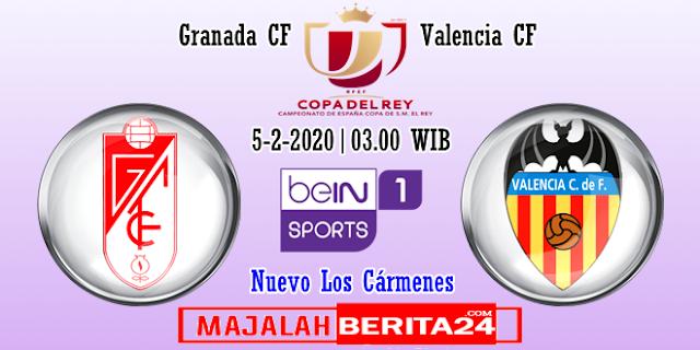 Prediksi Granada vs Valencia — 5 Februari 2020
