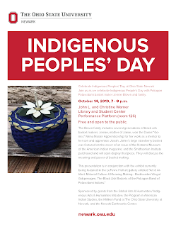 Indigenous Peoples' Day Flyer. PDF available.