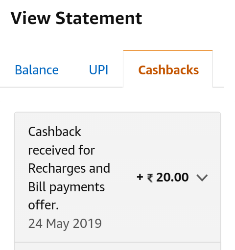 UC Offer) Amazon Recharge Offer- Get 100% cashback upto Rs