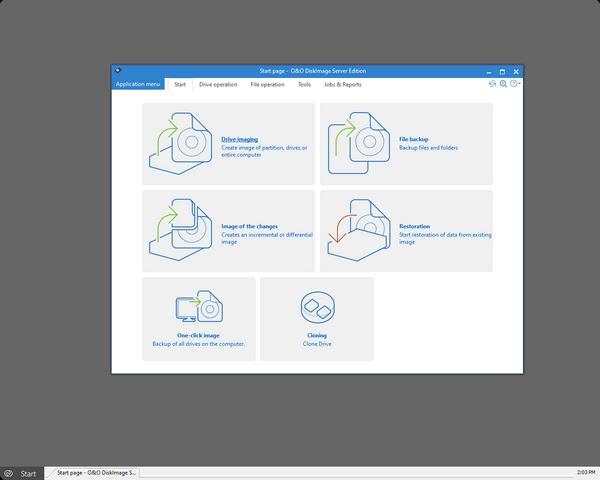 تحميل برنامج O&O BlueCon Admin Edition 17.1 لإدارة البيانات المفقودة أو استردادها