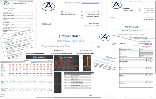 13 plans, Registers and many more documents
