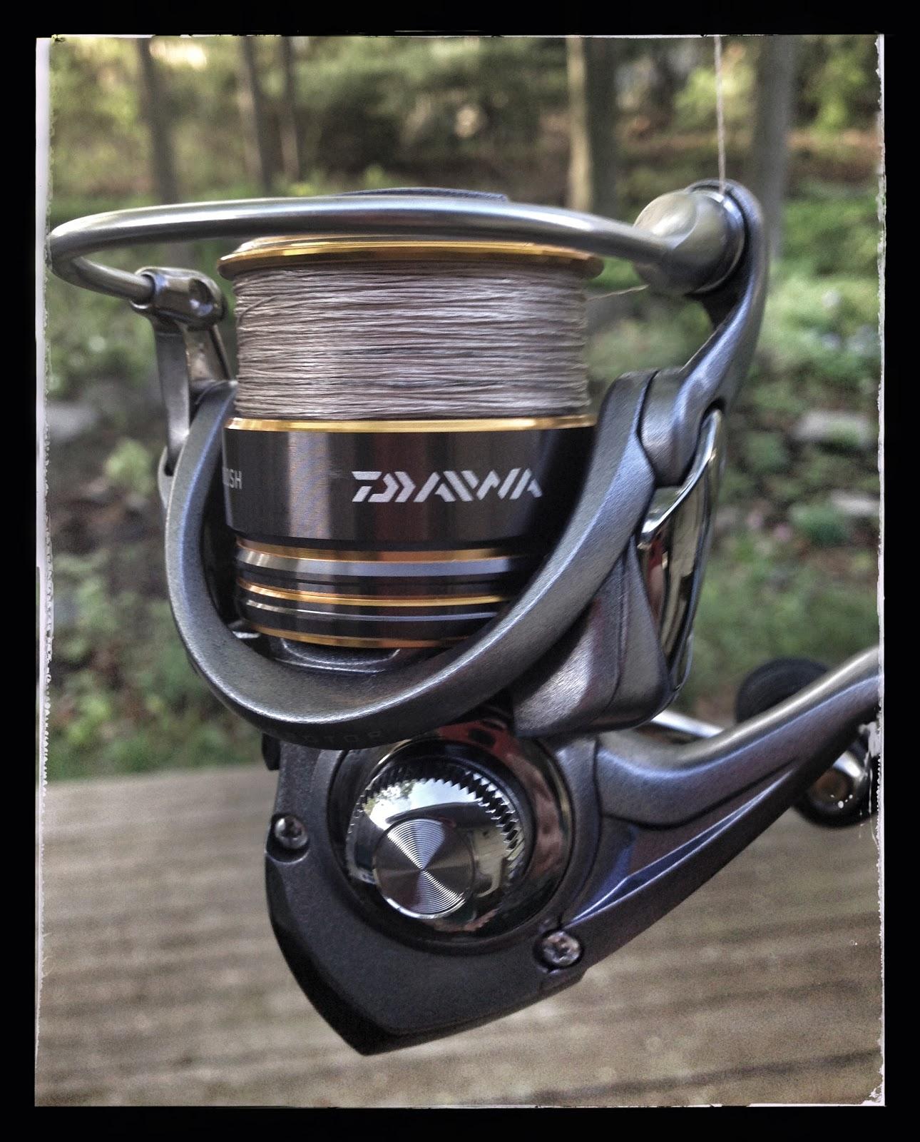 41147d5f2c4 Bass Junkies Fishing Addiction: Test Drive: The Daiwa Lexa 2000 ...