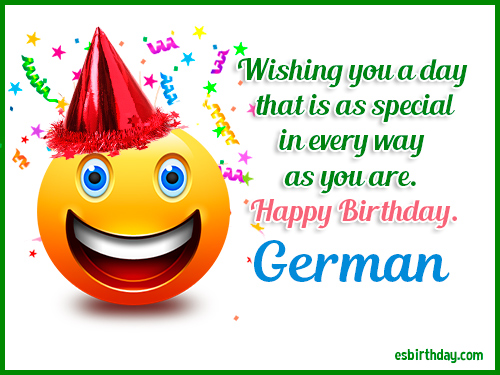 Happy Birthday German Happy Birthday Images For Name