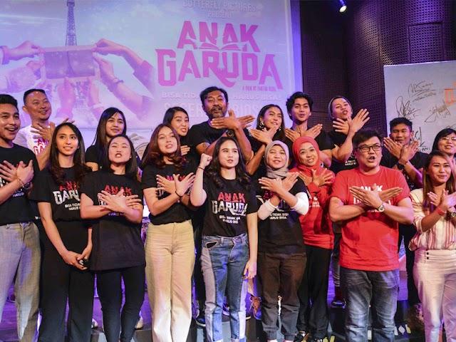 Anak Garuda, Film dari Kisah Nyata Perjuangan Generasi Milenial