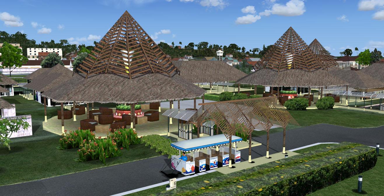 Download Scenery A_A Sceneries Samui Int  Airport (VTSM