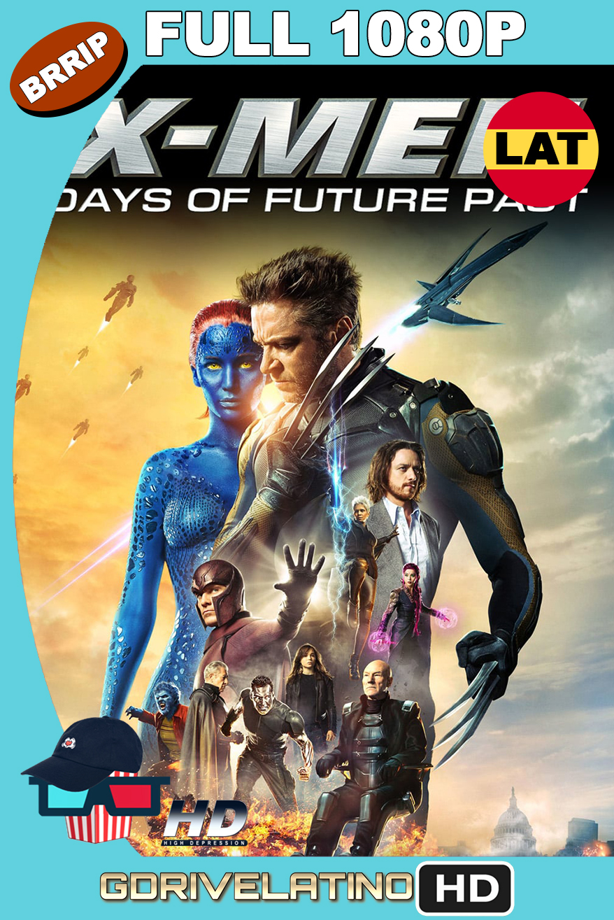 X-Men : Días del Futuro Pasado (2014) THEATRICAL CUT BRRip 1080p Latino-Ingles MKV