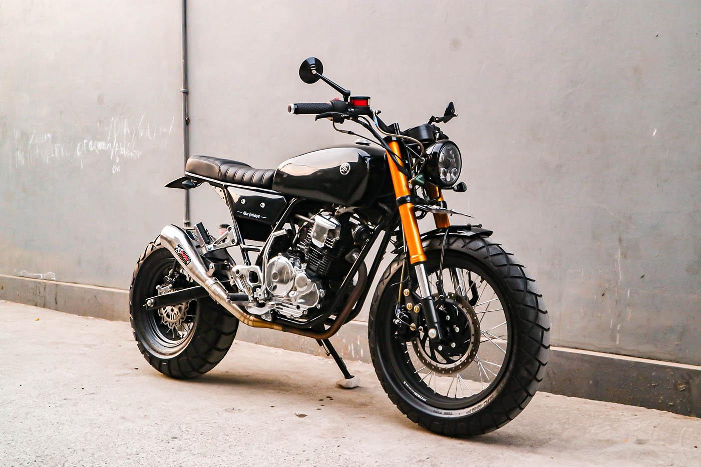 Gagah dan Berkarakter - Yamaha Scorpio Urban Street Tracker