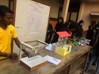 VES holds one-day science exhibition to mark Ramanujan's birthday