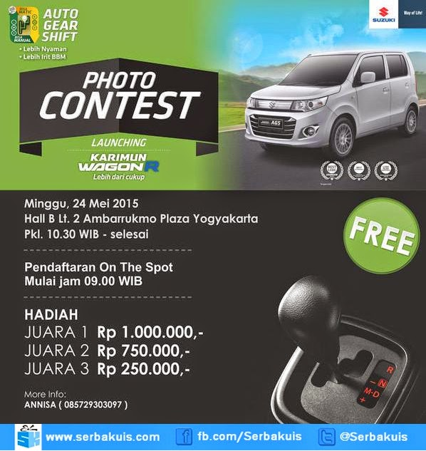 Kontes Foto Launching Karimun Wagon R Yogyakarta