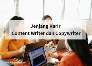 Keahlian copywriter dan content writer