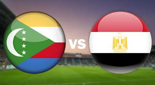 مشاهدة مباراة مصر ضد جزر القمر 29-3-2021 بث مباشر في تصفيات كأس أمم أفريقيا