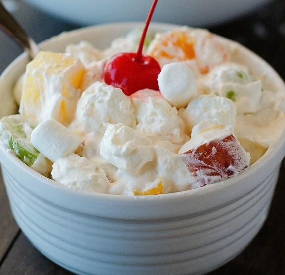 Ambrosia Salad #desserts #fresh