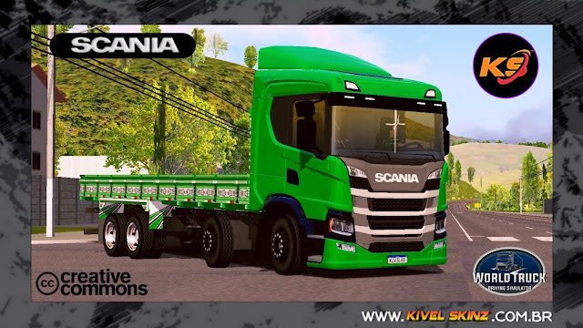 SCANIA P320 - GREEN TOP
