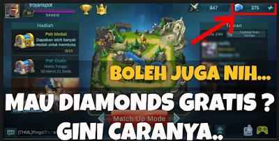Cara Mendapatkan Diamond Gratis Mobile Legend Melalui Apklake. com/Legends