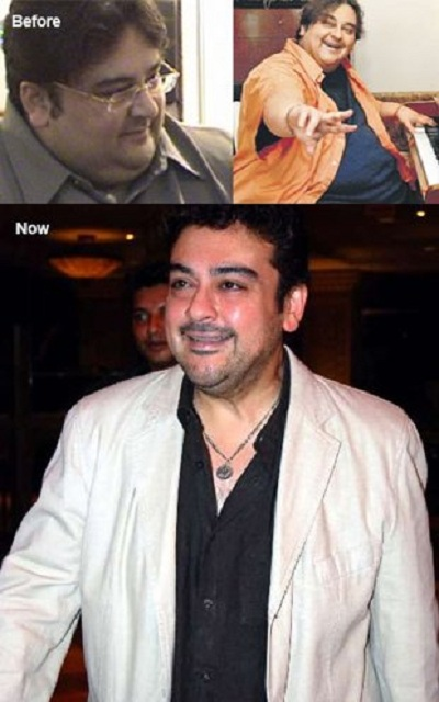 adnan sami fat to slim photos - Top Ten Meanest Celebrities