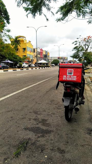 Contoh surat perlepasan perkhidmatan PKP food delivery COD & essential services