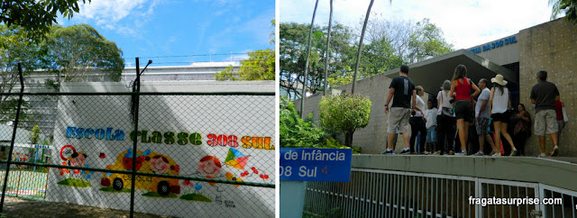 Escolas da Quadra 308 Sul de Brasília