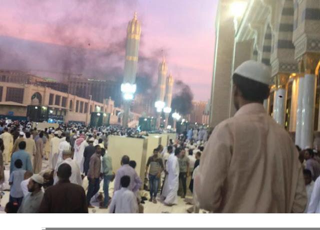 """""""تفجير انتحاري"""" قرب المسجد النبوي في المدينة المنورة بالسعودية"""