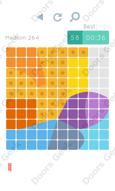 Cheats, Walkthrough for Blocks and Shapes Medium Level 264