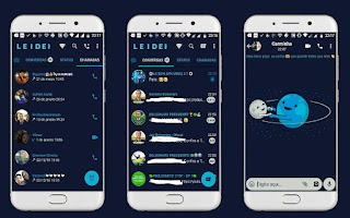 Space Cute Theme For YOWhatsApp & Fouad WhatsApp By Leidiane