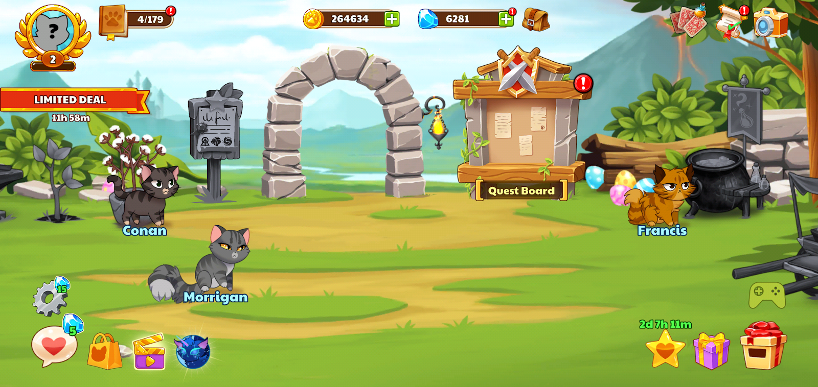 Castle Cats Mod Apk Version 2 5 24 Free Shopping - Technical
