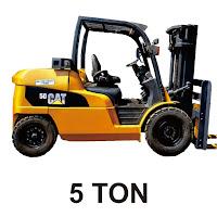 Rental Forklift 5 Ton