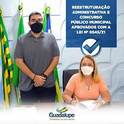 Prefeita Neidinha sanciona projeto que trata sobre Reestruturação Administrativa e Concurso Público