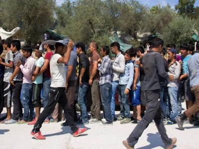 ΣΟΚ: Οι λαθρομετανάστες στην Κω ουρλιάζουν Τζιχάντ-Τζιχάντ..(ΒΙΝΤΕΟ)