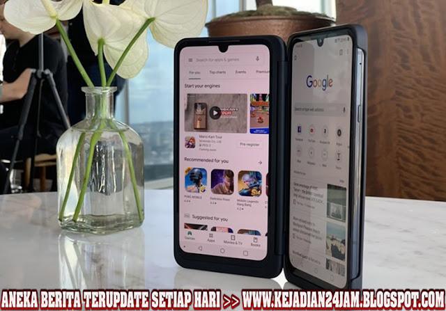 LG G8X ThinQ Ponsel Layar Ganda Mendarat Di India