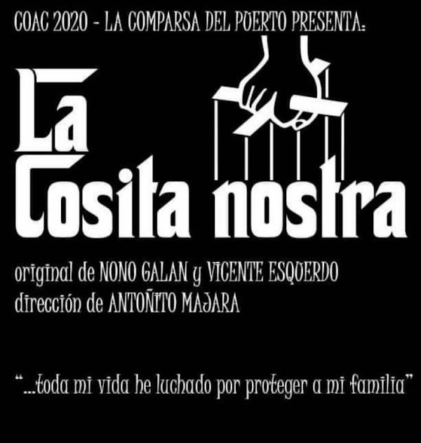 """La Comparsa del El Puerto será """"La Cosita Nostra"""""""