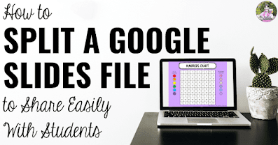 How to Split a Google Slides File to Share Easily With Students