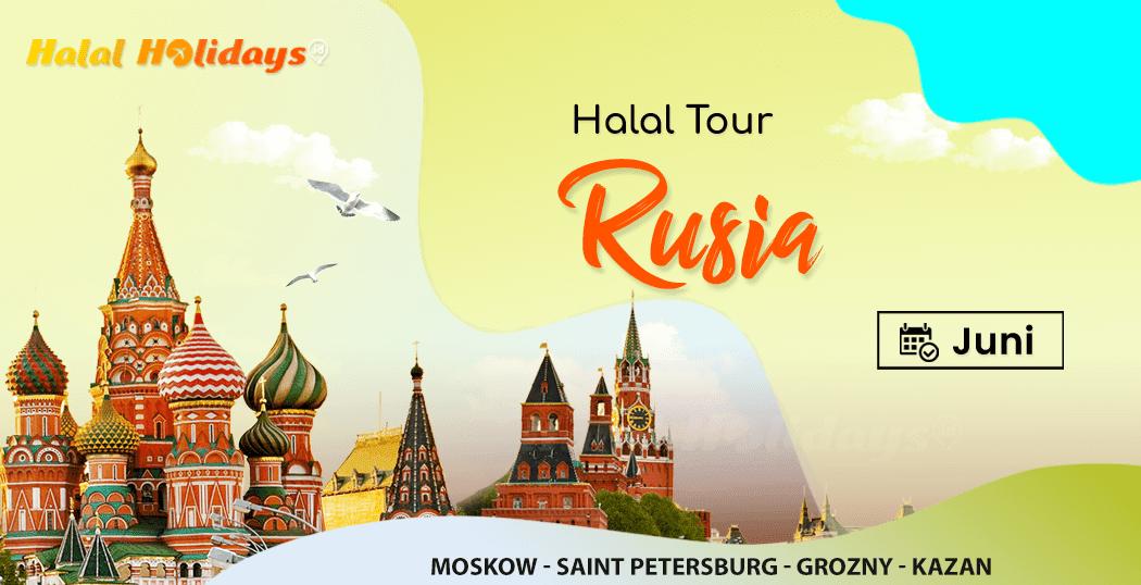Paket Tour Rusia Murah Bulan Juni 2022