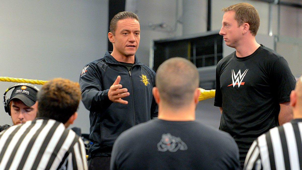 Lutadores do WWE NXT proibiram que Drake Wuertz arbitrasse suas lutas
