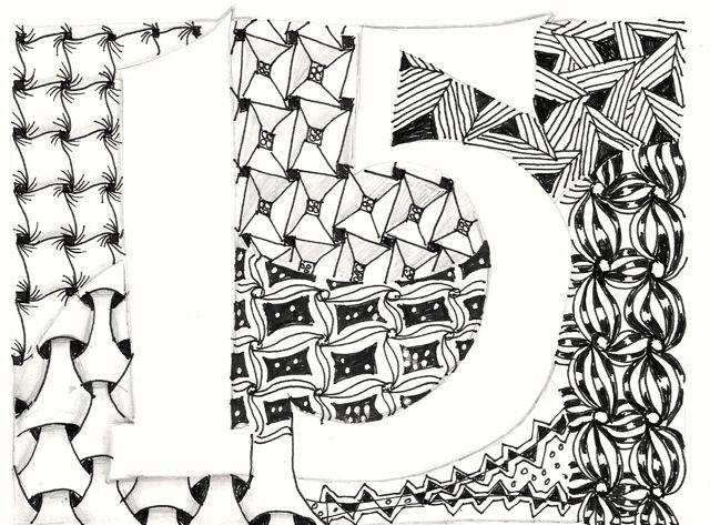 An Artist Labyrinth: Ginny Stiles CZT: August 2013