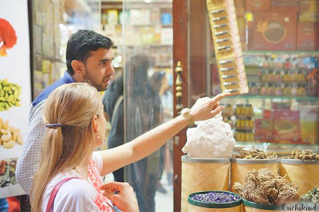 Gewürzmarkt in Dubai