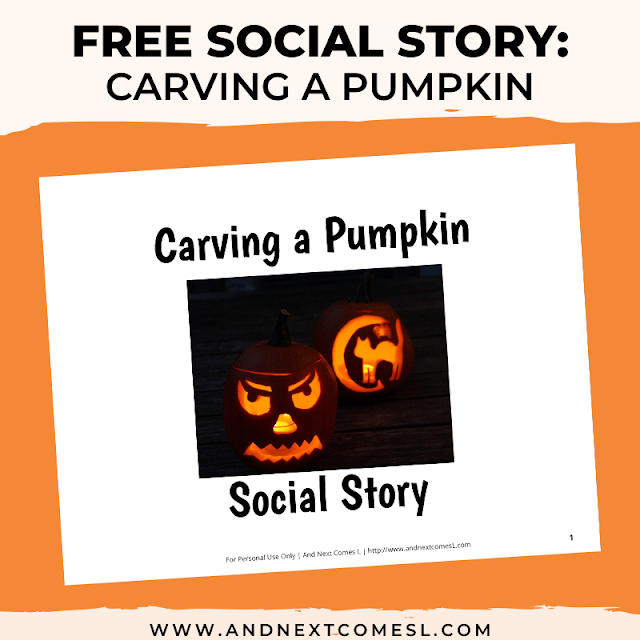 Halloween social scripts for kids about trick-or-treating